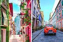 17 Beautiful Technicolor Streets Around The World You Need To Visit In Your Lifetime Going On Holiday, Places To See, Cameras, Travel Tips, Fair Grounds, Wanderlust, Around The Worlds, Bucket, Street View