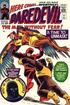 Daredevil #11 - A Time To Unmask! (Issue)