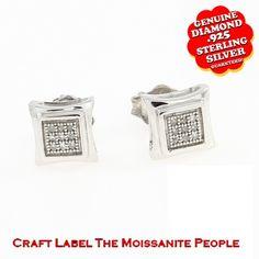 "14K Gold Genuine Diamond Stud Earrings ""Mother\'s Day Gift"". Starting at $89"