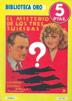 El misterio de los tres suicidas   La editorial Molino