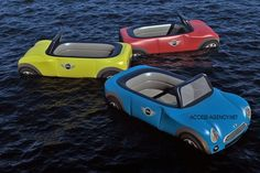 Mini Cooper Inflatable.