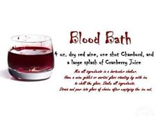 True Blood Party Fangtasia Drink Recipes