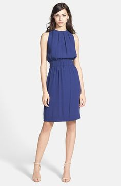 kate spade new york 'carlie' tie back dress available at #Nordstrom