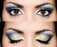 Blue Green Eyeshadow by Poly.Perv