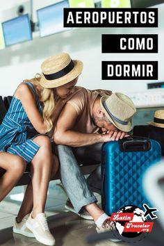 Conoce los mejores trucos, secretos y consejos para dormir en practicamente cualquier aeropuerto del mundo. Ten en cuenta que hay situaciones en las que tendras que dormir en el aeropuerto incluso cuando no lo tenias pensado. #aeropuertos #dormiraeropuerto #latintraveler Ten, Panama Hat, Capsule Hotel, Travel Alone, Airports, Travel Smash Book, Panama