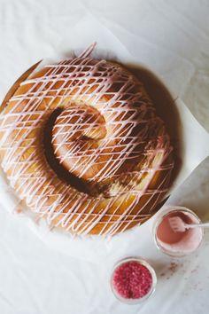 brown sugar #challah with #pomegranate glaze #roshhashana