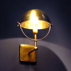 Brass wall lamp - Interior Wall Lights