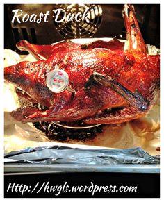 Chinese Crispy Roast duck (粤式脆皮烤鸭) #guaishushu #kenneth_goh   #roast_duck  #脆皮烤鸭