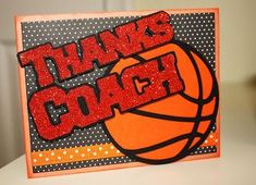 """My daughter's high school needed someone to create some cards and """"gift certificates"""" for her basketball coach, the assistant, and the bo. Basketball Birthday Cards, Basketball Gifts, Basketball Coach, Sports Gifts, Basketball Shoes, Fantasy Basketball, Girls Basketball, Sports Mom, Soccer"""