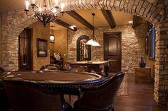 Basement Rustic Basement Design, Pictures, Remodel, Decor and Ideas