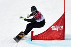 DAY 13:  Roland Fischnaller of Italy competes during the Snowboard Men's Parallel Giant Slalom http://sports.yahoo.com/olympics