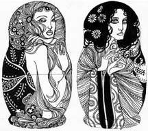 """Da brincadeira de um grupo de ilustradores nasceu a exposição """"Magioskas"""". A mostra traz objetos e ilustrações que respeitam o formato tradicional das bonecas russas conhecidas como """"Matrioshkas"""". Essa é a primeira exposição coletiva de sete artistas que fazem parte da galeria virtual Magenta: Fernanda Guedes, Hiro Kawahara, Carlo Giovani, Leo Gibran, Samuel Casal, Zé...<br /><a class=""""more-link""""…"""