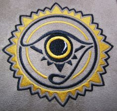 Inner Eye  Digitzed Embroidery file by MordorkEmbroidery on Etsy