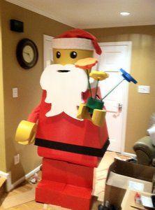 Homemade Santa Claus Lego Costume Award Winning   eBay