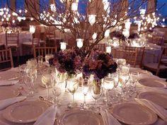 centro de mesa boda, iluminación para bodas de noche, velas para decorar bodas, bodas por la noche, ideas para bodas de noche
