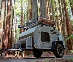 TerraDrop: Off Road Capable, Overland -inspired Teardrop Trailer. Built for Adventure! - Oregon Trail'R - Teardrop Trailers and Accessories Diy Camper Trailer Designs, Small Camper Trailers, Small Travel Trailers, Off Road Camper Trailer, Small Trailer, Small Campers, Airstream Trailers, Camping Trailers, Camper Ideas