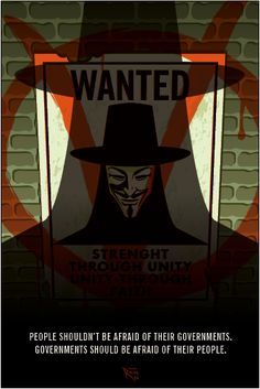 V for Vendetta poster made by me