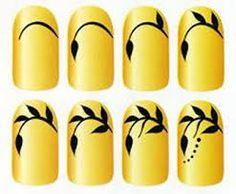 Картинки по запросу пошаговый дизайн ногтей