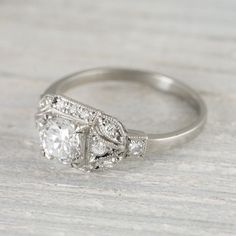 1000+ ideas about Art Deco Engagement Rings on Pinterest | Deco ...
