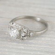 1000+ ideas about Art Deco Engagement Rings on Pinterest   Deco ...