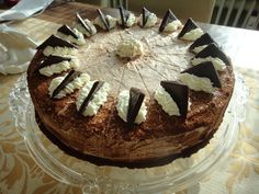 'After-Eight-Torte' After Eight Torte, Tricks, Tiramisu, Oven, Friends, Cake, Ethnic Recipes, Desserts, Food