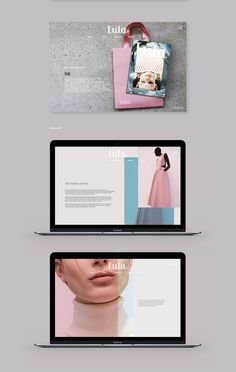 Created a new web site for Lula magazine, brought up to date in a sleek and sophisticated look to the image of the brand that offers its readers a wide rande in the world of fashion and glamor.
