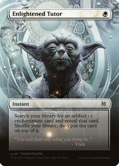 Magic The Gathering Enlightened Tutor Proxy