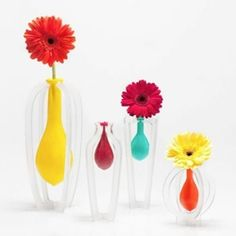 Corey Green reinvents the vase with a common latex balloon...
