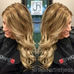 Beachy Blonde Balayage @hairartistjess