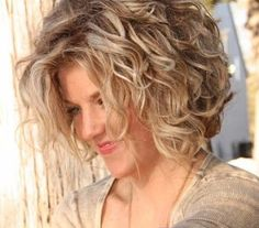 You might have heard the old expression about your hair being the crowning glory of your appearance. Either way, if you are looking for tips on how to style wavy hair, it is because yo… Grey Curly Hair, Curly Hair Cuts, Short Curly Hair, Short Hair Cuts, Curly Hair Styles, Black Hair, Wavy Haircuts, Permed Hairstyles, Great Hair