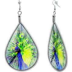 Beauteous Peacock Earrings
