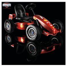 Berg Ferrari F1 Buddy Pedal Go-Kart