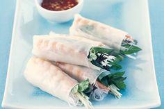 Prawn Rice Paper Rolls Recipe - Taste.com.au