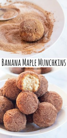 Banana Recipes, Donut Recipes, Fruit Recipes, Copycat Recipes, Pie Recipes, Brunch Recipes, Vegan Recipes, Cooking Recipes, Easy Gluten Free Desserts