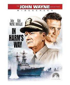 """John Wayne & Kirk Douglas (Movie Poster) """"In Harms Way""""… Old Movies, Vintage Movies, Great Movies, Movie Photo, Movie Stars, Movie Tv, Kirk Douglas, Capas Dvd, John Wayne Movies"""