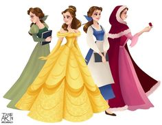 The many dresses of Belle