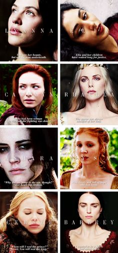 THE WOMEN OF ROBERT'S REBELLION #asoiaf
