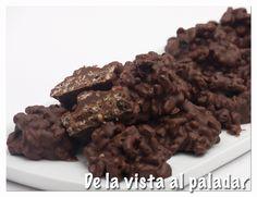 De la Vista al Paladar: Rocas de chocolate