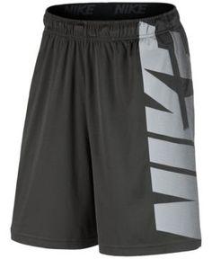 Nike Men's Dry Logo Training Shorts - Gray 2XL