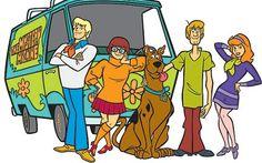 Scooby-doo. Desenho que a gente não se cansa de assistir!!!