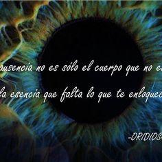 #FrasesOridios #losojos