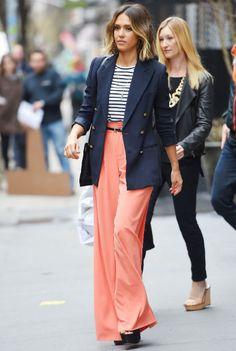 Inspirierend und modebewusst: Jessica Alba.