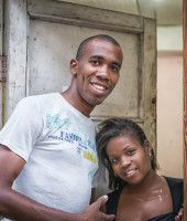 A cute couple in Old Havana street. Cuba Tours, Cuban People, Havana, Cute Couples, Street, Mens Tops, Baby, Adorable Couples, Baby Humor