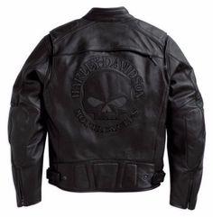 Harley Davidson Men s Reflective Willie G Skull Leather Jacket 98099-07VM XL #HarleyDavidson #Motorcycle