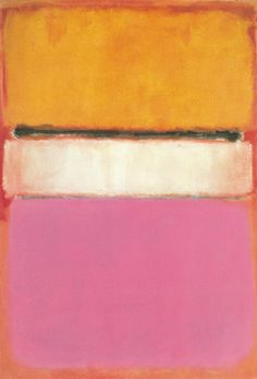 White Center (Yellow, Pink and Lavender on Rose) Artist: Mark Rothko Completion Date: 1950 Style: Color Field Painting Genre: abstract Technique: oil on canvas
