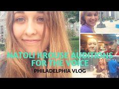 Natoli Krouse Auditions for The Voice - Philadelphia Vlog - YouTube