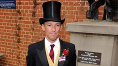 Frankie Dettori attends day two of Royal Ascot. Better go get ready for the racing.
