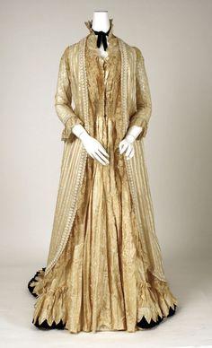 1880's tea gown