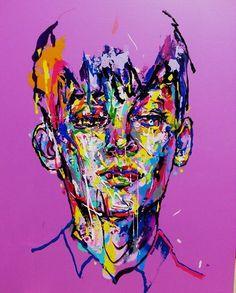 an ordinary person 31, acrylic on canvas, 53.0cm x 45.5, 2013