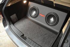 Custom Car Audio, Custom Cars, Interior Accessories, Car Accessories, Peugeot, Custom Subwoofer Box, Jetta A2, Car Audio Installation, Volvo
